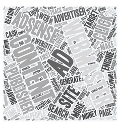 Reasons why adsense is essential for content sites vector