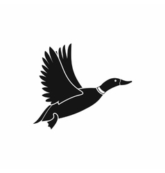 Duck icon simple style vector image vector image