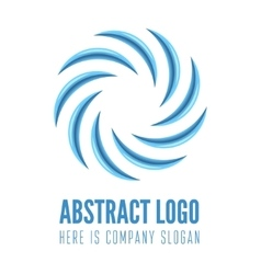 Logo label sticker or logotype element for web vector image