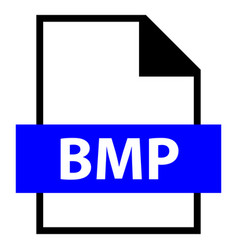 file name extension bmp type vector image vector image