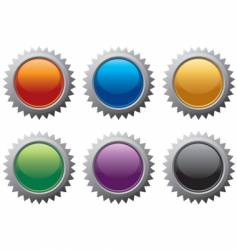 internet burst icons vector image vector image