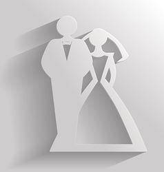 wedding flat vector image