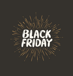 black friday sale discount low price shopping vector image