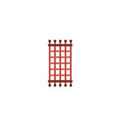flat icon needlework element vector image