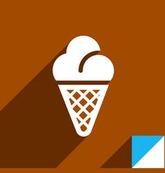 icon on square sticker vector image