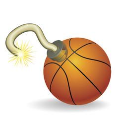 basketball countdown vector image