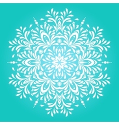 Winter background for christmas card vector