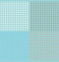 Seamless halftone dots vector image vector image