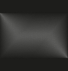 dark abstract background black and white striped vector image vector image