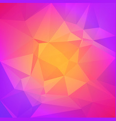 Abstract gradient triangle background vector