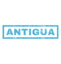 Antigua Rubber Stamp vector image