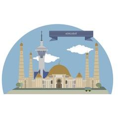 Ashgabat vector image