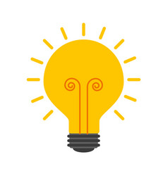 business idea creativity innovation icon vector image