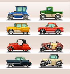 car icon set-5 vector image