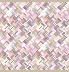 colorful geometrical diagonal rectangle mosaic vector image