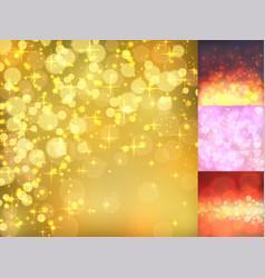 creative bokeh abstract trendy texture vector image