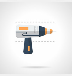 drill flat color icon vector image