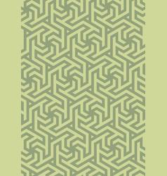geometric pattern hexagonal grid vector image