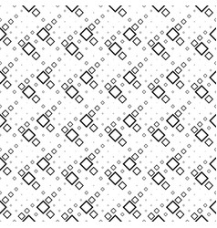 geometrical black and white abstract square vector image