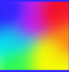 Rainbow color gradient mesh background trendy vector