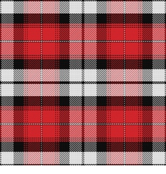 seamless pattern Scottish tartan vector image