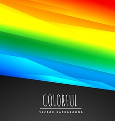 Stylish colorful background vector