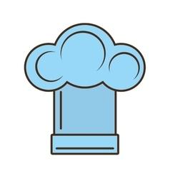 hat chef cooker kitchen design vector image