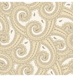 eastern style paisley vector image vector image