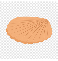 pearl shell isometric icon vector image