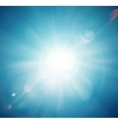 Sun Shine vector image vector image