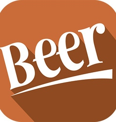 Beer Banner vector image vector image