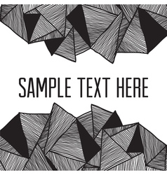 Abstract background Square frame for your text vector image