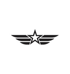 Army military icon vector