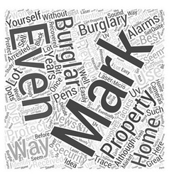 Best ways to prevent burglary brought by vector