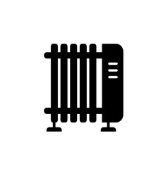 electric radiator icon vector image