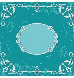 Frame calligraphy vector