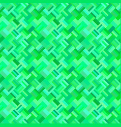 green seamless abstract diagonal rectangle vector image