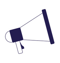 megaphone marketing loud voice announce icon vector image