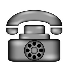 phone icon sign vector image