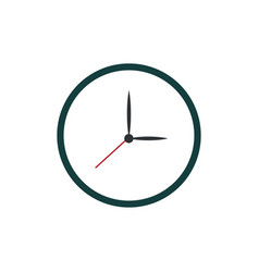 clock watch time icon vector image