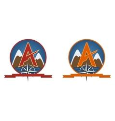 Travel Emblem vector image