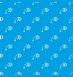 Mini charger pattern seamless blue vector