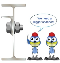 Workers wrong spanner vector