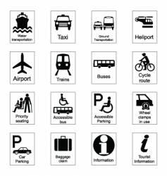 public signs vector image vector image