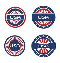 Seals USA vector image vector image