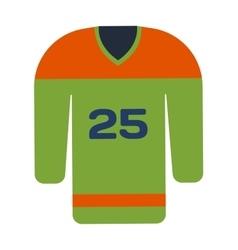 Hockey uniform vector image