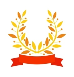 Branch award vector image