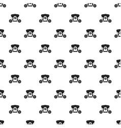 Brougham pattern vector