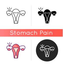 Ectopic pregnancy icon vector