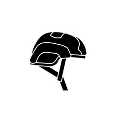 helmet for airsoft helmet icon vector image